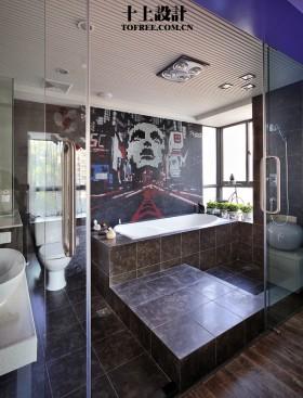 简约风格卫生间浴室装修效果图