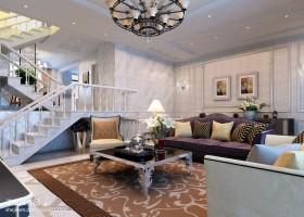 别墅客厅装修效果图大全2013