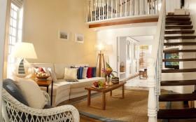 复式家庭客厅装修效果图
