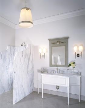 欧式风格隔断欧式卫生间浴室隔断效果图
