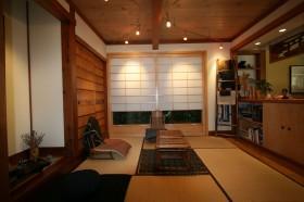 榻榻米客厅装修效果图