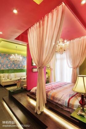 单身公寓卧室装修效果图