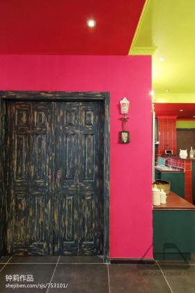 家装进门玄关设计效果图