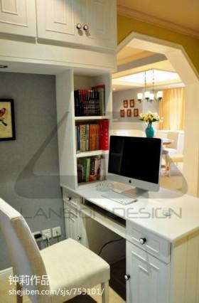 现代家居书房装修设计图