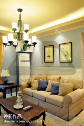现代家居客厅沙发装修设计图