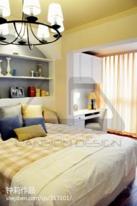 现代简约家装小卧室装修效果图