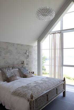 欧式别墅主卧室墙纸装修效果图