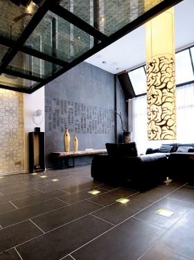 現代風格復式樓客廳圖片