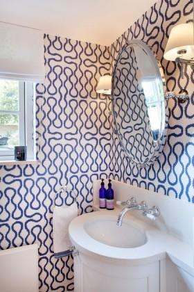 洗手间壁纸装饰效果图