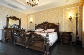 美式主卧室装修图片