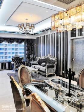 欧式现代客厅装修图片