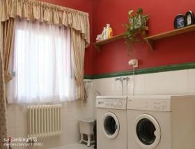 家装卫生间窗帘装修设计图