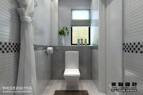 别墅卫生间装饰设计效果图