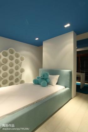 现代简约风格儿童卧室装修效果图