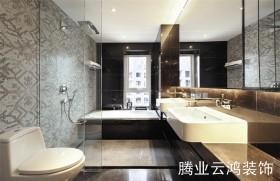 90平米两室一厅卫生间装修效果图