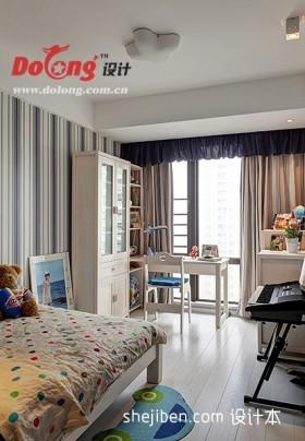 现代儿童房装潢设计图