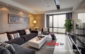 现代客厅装潢设计效果图