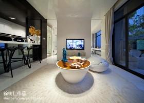 现代简约单身公寓装修图