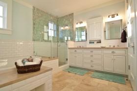整体欧式浴室柜图片