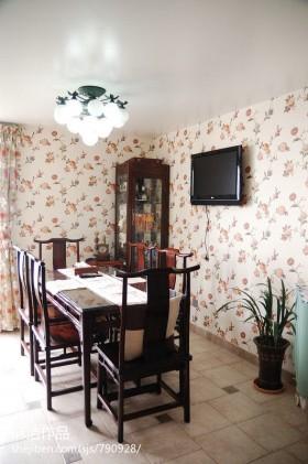 家庭装修设计餐厅效果图