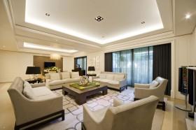 110平米三室一厅客厅装修效果图