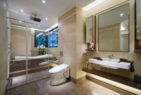 110平米三室一厅卫生间装修效果图