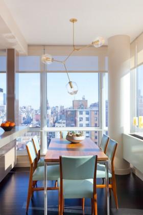 单身公寓餐厅设计效果图欣赏