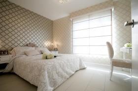 别墅卧室壁纸装饰设计图