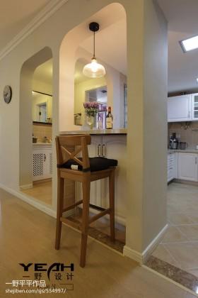 欧式风格厨房欧式厨房吧台效果图