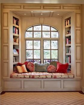飘窗设计 飘窗书桌设计