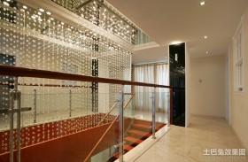 走廊水晶窗帘过道装修效果图