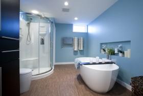 地中海风格卫生间浴缸图片大全