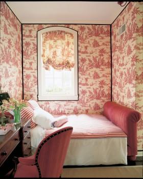 简约小卧室壁纸效果图