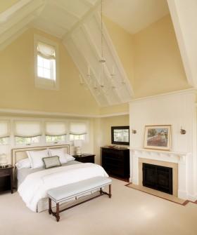 高斜顶阁楼卧室装修效果图