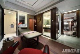 现代风格别墅软装饰效果图