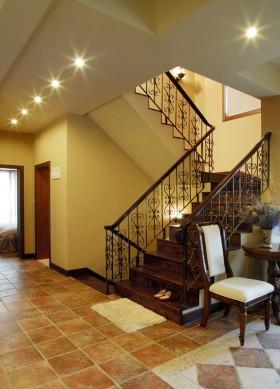 别墅楼梯设计装修效果图素材