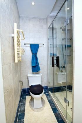 地中海风格小卫生间设计效果图