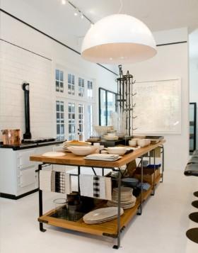 中户型厨房台面设计效果图
