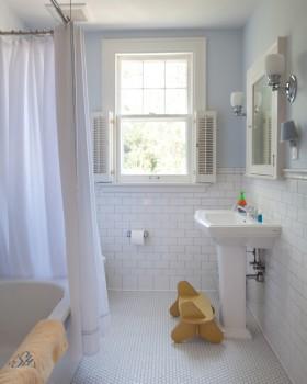 卫生间浴帘效果图 卫生间洗手台