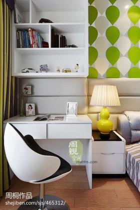 卧室书柜设计效果图