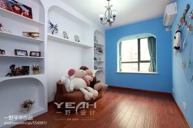 地中海风格儿童房设计效果图