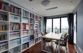 现代书房装修样板房效果图