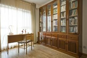 书房书柜装修样板房效果图