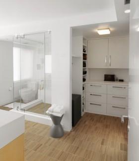 整体卫生间淋浴房效果图