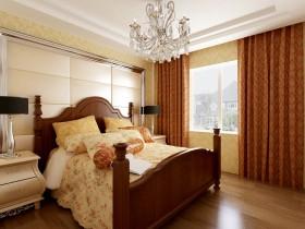 主卧室窗帘装饰设计图