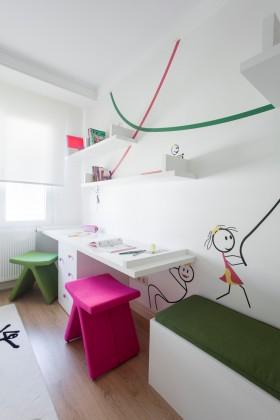室内装饰效果图 儿童书房装饰效果图
