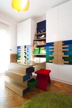 室内装饰效果图 创意书房装饰效果图