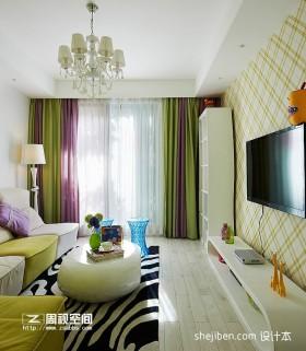 新房客厅电视背景墙装饰效果图