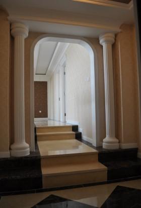 欧式进门玄关装潢设计效果图
