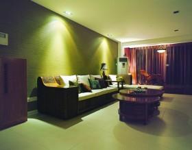 东南亚风格客厅装饰效果图